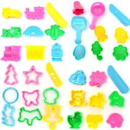 Play Dough Mold Tools Set - 36pcs