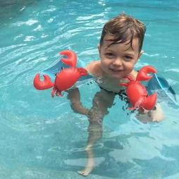 Inflatable Animal Swimming Armbands for Kids