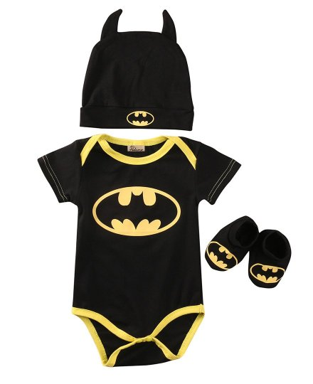Baby Batman Set - Romper