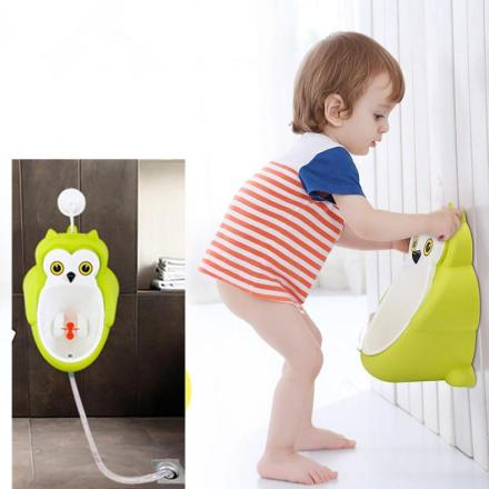 Baby Potty Training Urinal for Boys - Large Owl