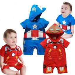 Baby Superhero Rompers