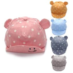 Dotted Baby Summer Hats