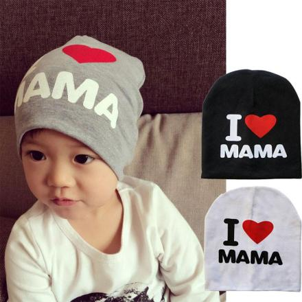I LOVE PAPA & MAMA Baby Hat