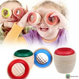 Wooden Kaleidoscope Learning Toy
