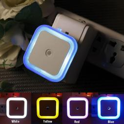 LED Night Light - Bed Lamp with Smart Sensor - Colorful Lights 4 Pack