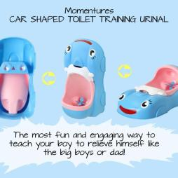 NEW - Car Shaped Baby Potty Training Urinal with Spinning Wheel