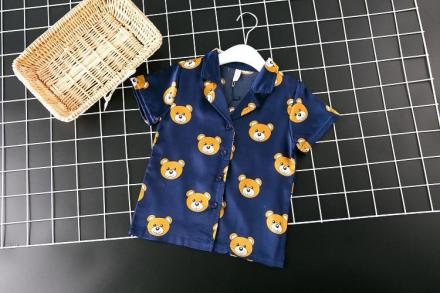 Cute Bear Pyjama Set for Children