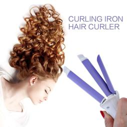 Professional 2 in 1 Curling Iron - Mini Hair Curler