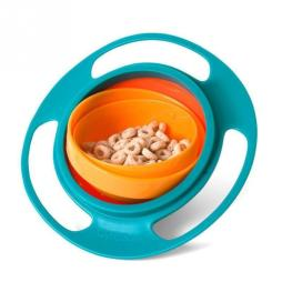 Rotating Spill-Proof Baby Food Bowl