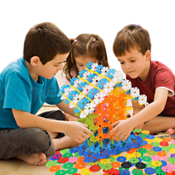 Snowflake Building Blocks - 500 Piece Set