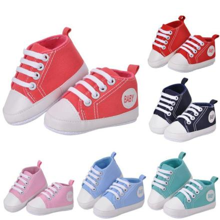 Stylish Baby Canvas Sneakers