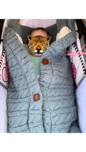 Baby Winter Knit Swaddle Sleeping Bag Review 1