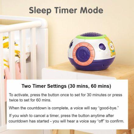 Starry Baby Night Light Sleep Timer Mode