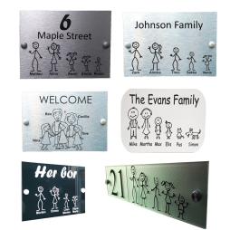 Custom Family Door Signs