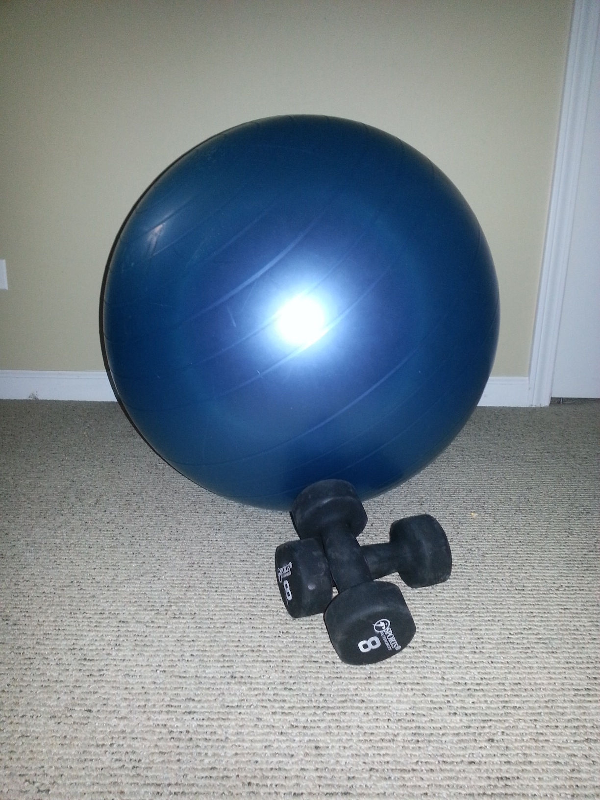 core ball chair office with headrest get in shape move of the week working out at home a