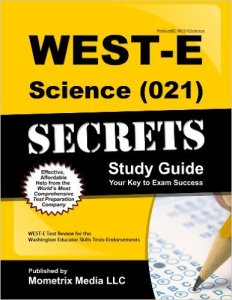 WEST-E Science Practice Questions Study Guide