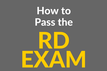 How to Pass the RD Exam