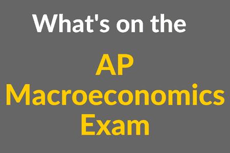 What's on the AP Macroeconomics Exam