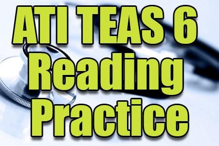 ATI TEAS 6 Reading Practice