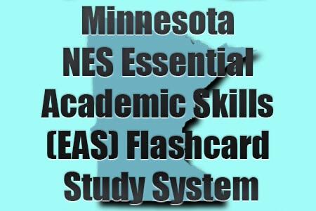 Minnesota NES Essential Academic Skills (EAS) Flashcard Study System