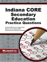 Indiana CORE Secondary Education Practice Questions
