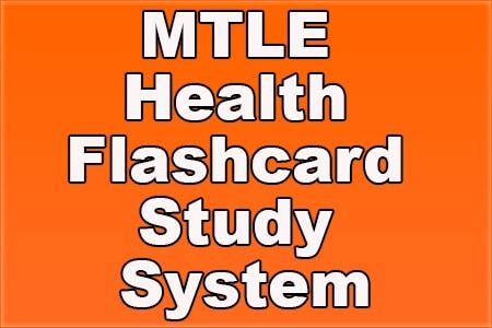 MTLE Health Flashcard Study System