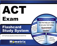 ACT Exam Flashcards Study System