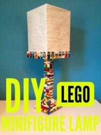 Ikea Hack DIY LEGO Minifigure Lamp - Momfluential Media