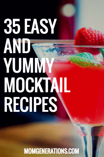 35 Easy and Yummy Mocktail Recipes