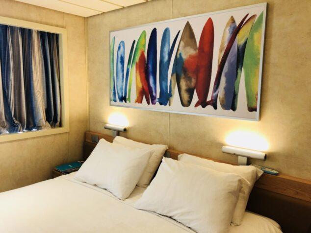 Carnival Paradise Oceanside Stateroom Cabin
