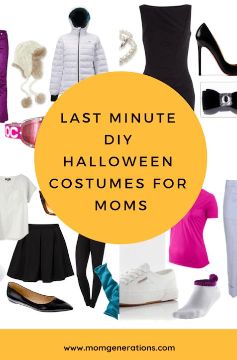 Last Minute DIY Halloween Costumes for Moms