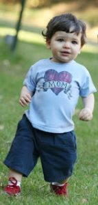"""Mother's Day Giveaway – City Threads """"Mom"""" Tee"""