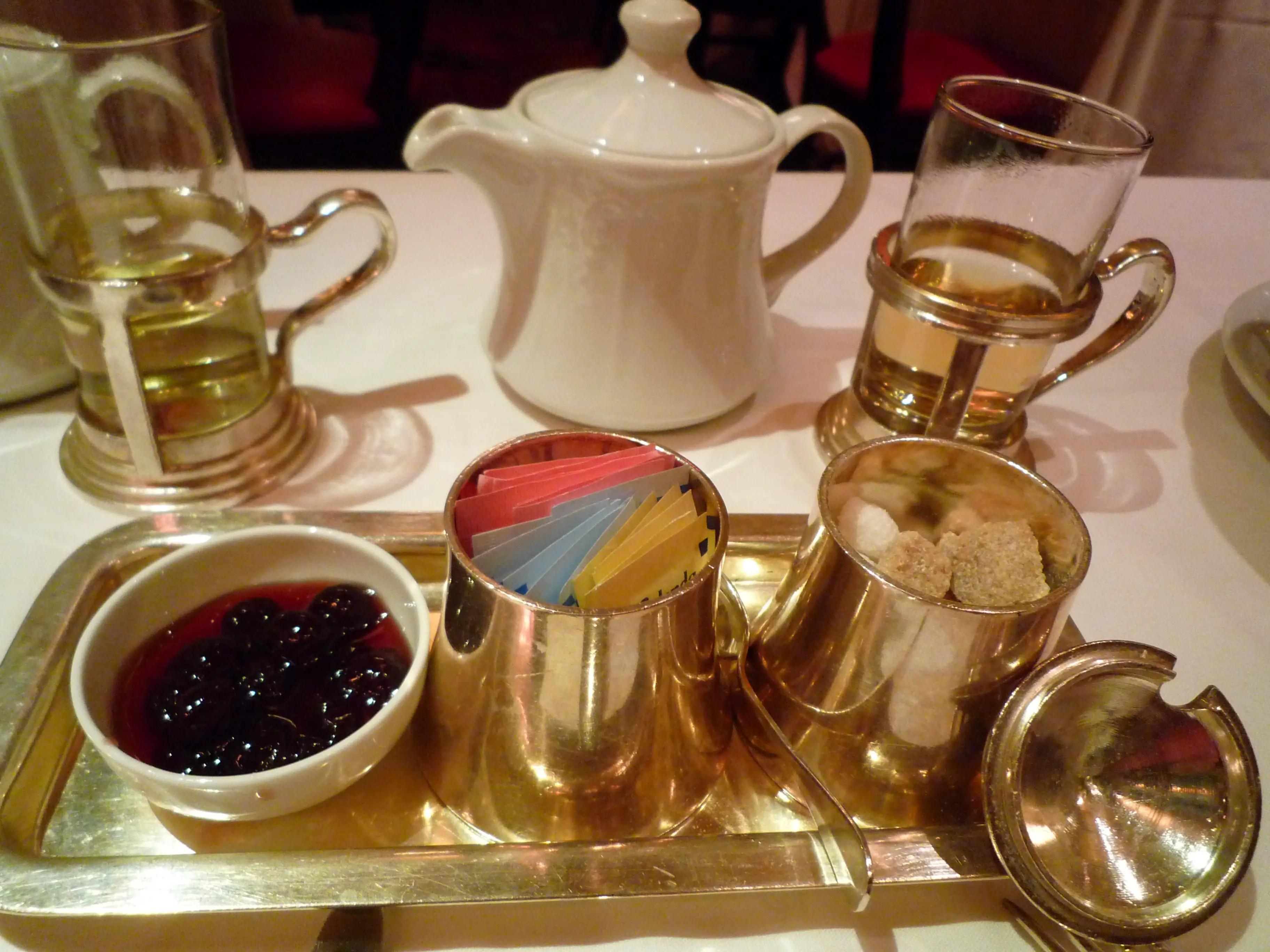 High Tea at The Russian Tea Room