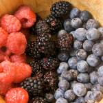 Triple berry, blueberry and watermelon summer smoothie recipes