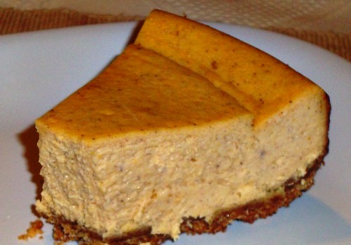 Sweet Potato Cream Cheese Cake