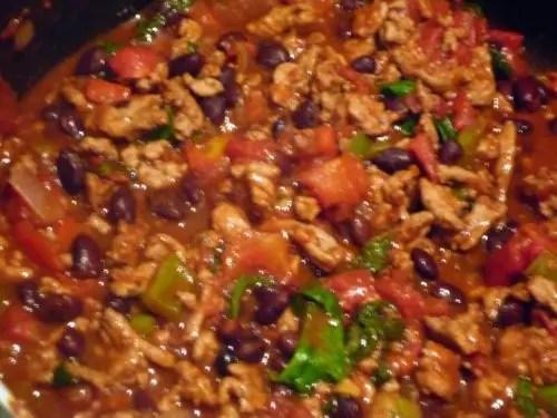 Super Bowl Recipe: Easy Gluten Free Slow Cooker Turkey Chili - photo#24