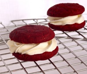 Easy Red Velvet Whoopie Pies Recipe (Dessert a Day 'Til Christmas – Day 7)