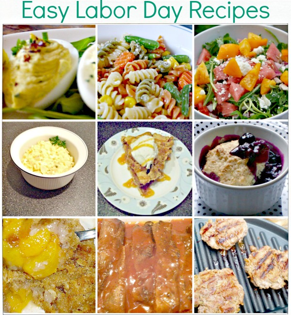 Easy Labor Day Recipe Ideas