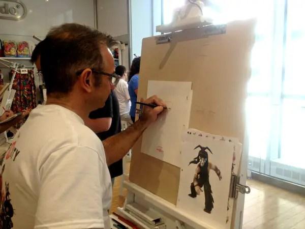 disney sketch artist