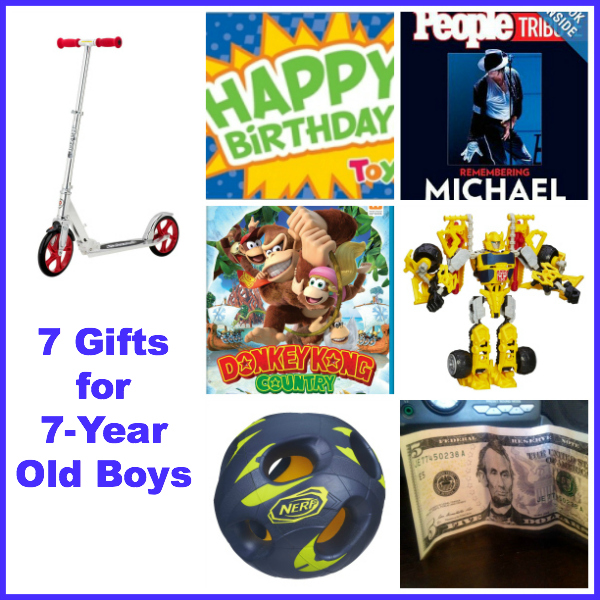 7 Gift Ideas for 7-Year Old Boys