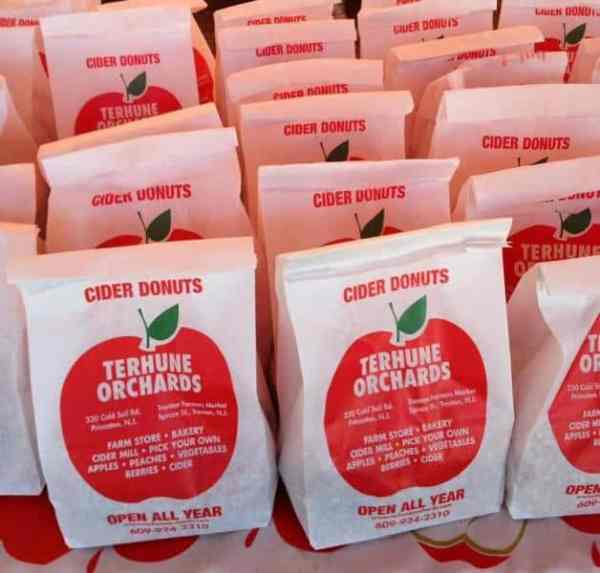 terhune orchards cider donuts