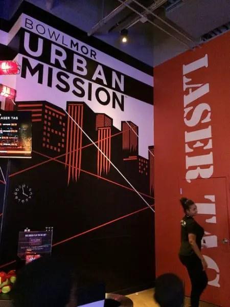 urban mission laser tag