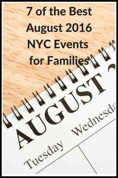7 of the Best August NYC Events for Families - Rio on the Hudson,Summer Streets 2016,  Grand Central Summer Send-Off, 2016 Arthur Ashe Kids' Day & more