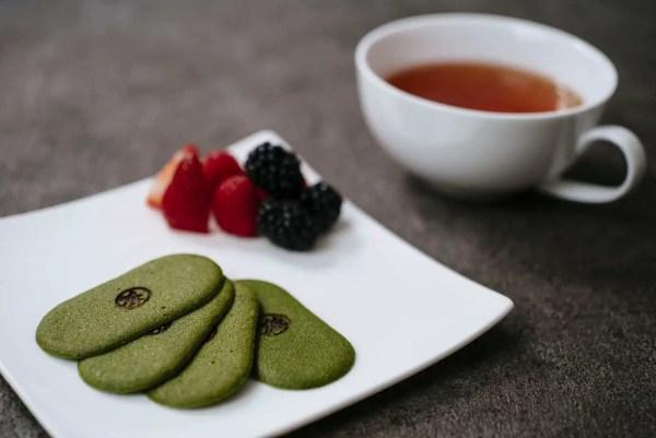 Maru CHA CHA Matcha Green Tea Biscuits (Plus trifle recipe)