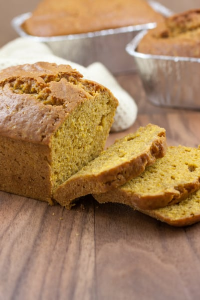 pumpkin spice bread recipe with canned pumpkin