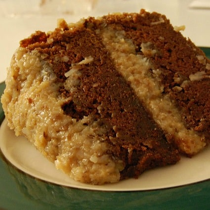 Vegan German Chocolate Cake Recipe (Dessert a Day 'Til Christmas - Day 2)