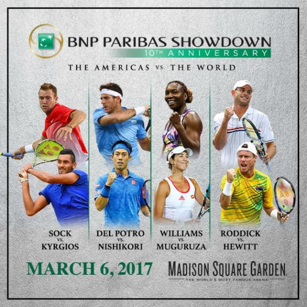 BNP Paribas Showdown MSG