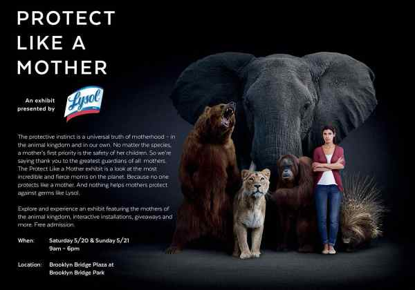 protect like a mother lysol exhibit