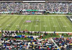 A Behind the Scenes Look at the New York Jets Game at MetLife Stadium