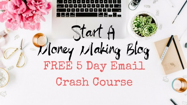 Start A Money Making Blog!